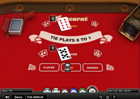 1×2-Gaming: Baccarat