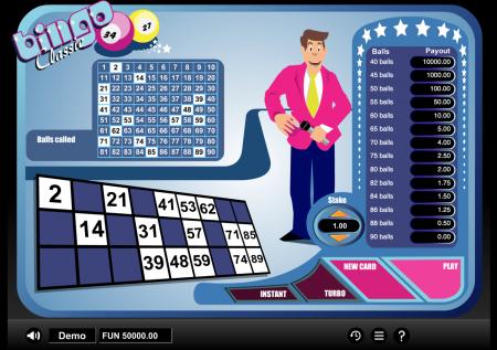 1×2-Gaming: Bingo classic