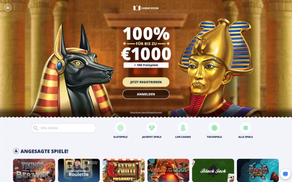 casino room website