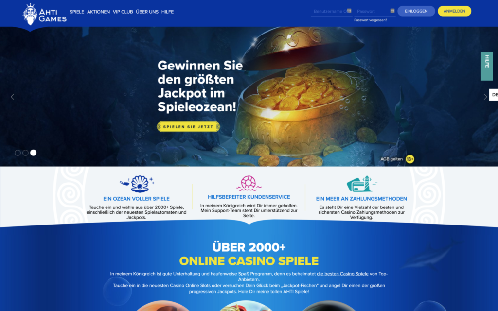 ahti games website