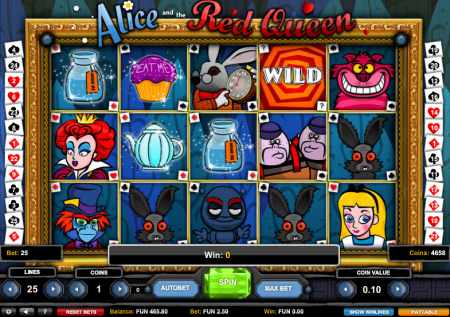 1×2-Gaming: Alice and the red Queen Slot