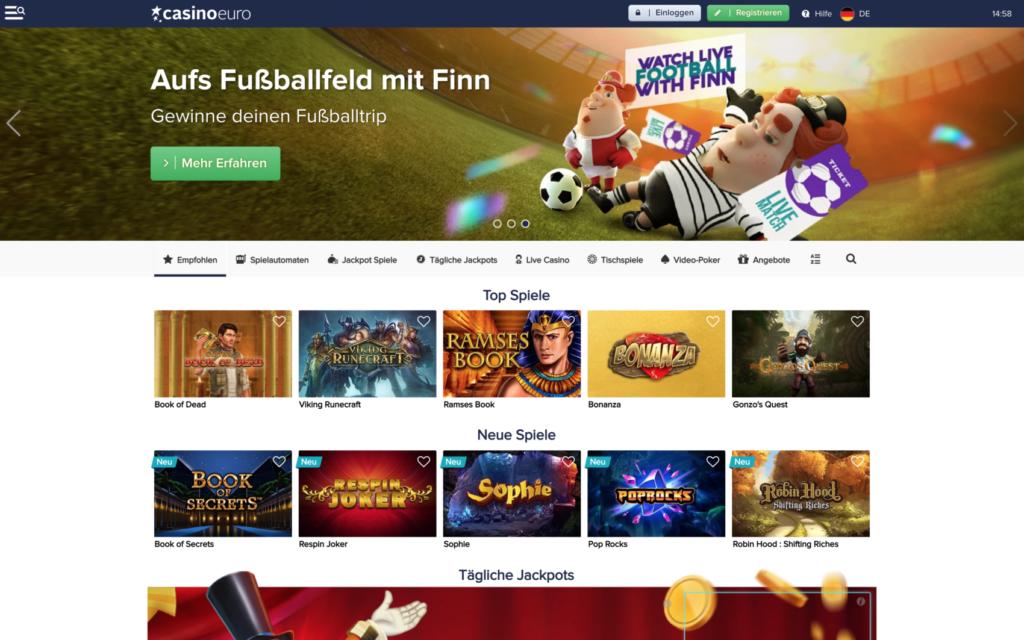 casino euro website