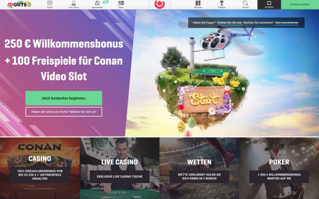 guts casino website