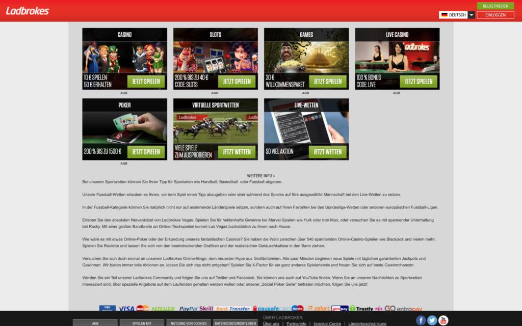 ladbrokes website