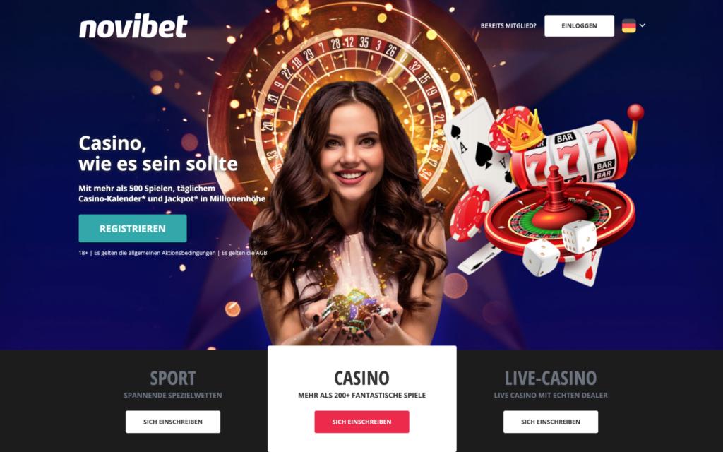 novibet website