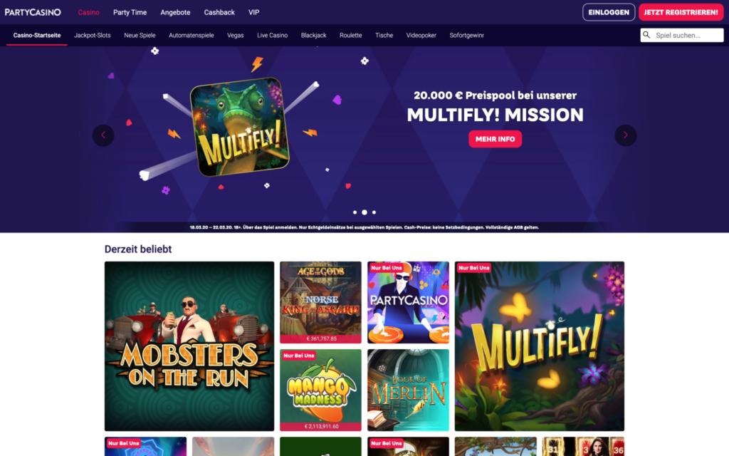 partycasino-website