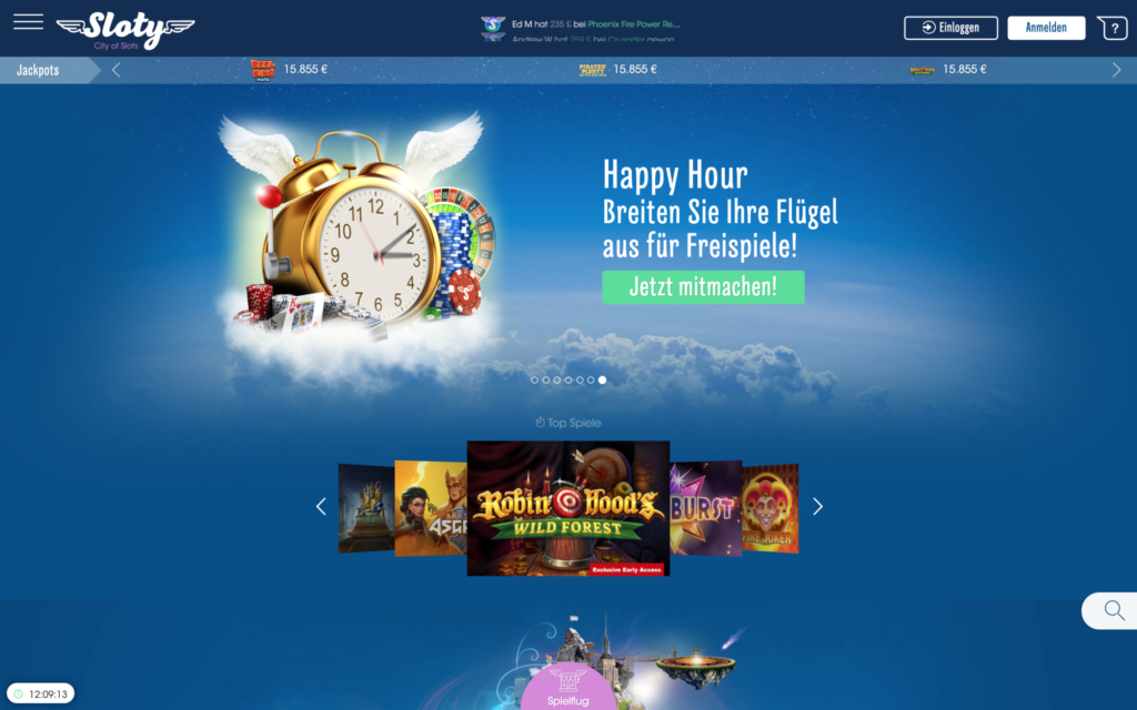 slotty casino website
