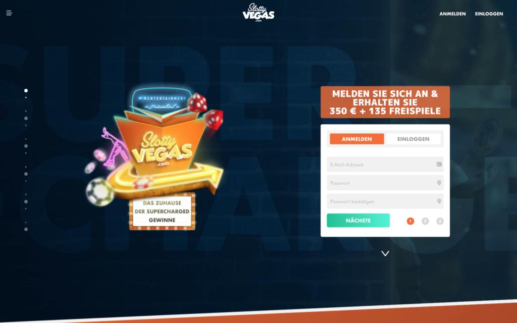 slotty vegas website